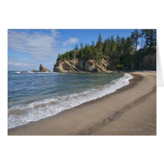 USA, Oregon, coastline Card