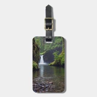 USA, Oregon, Columbia River Gorge 5 Luggage Tag