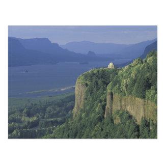 USA, Oregon, Columbia River Gorge NSA. View of Postcard