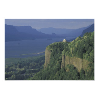 USA, Oregon, Columbia River Gorge NSA. View of Poster