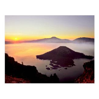 USA, Oregon, Crater Lake National Park 3 Postcard