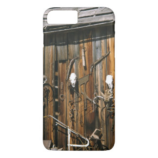USA, Oregon, Harney County. Old livery stable iPhone 7 Plus Case