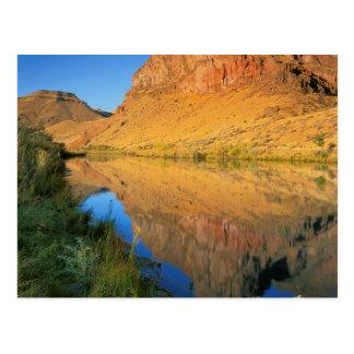 USA, Oregon, Owyhee River Canyon Postcard