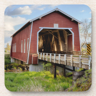 USA, Oregon, Scio, Shimanek Bridge Coaster