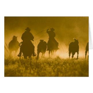 USA, Oregon, Seneca, Ponderosa Ranch. 3 Card