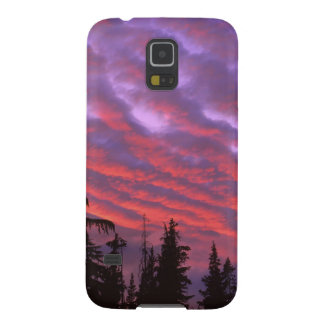 USA, Oregon, Three Sisters Wilderness, Vivid Galaxy S5 Cover