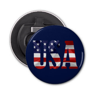 USA Patriotic Bottle Opener