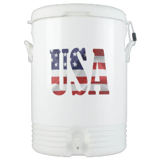 USA Patriotic Cooler