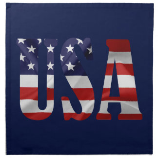 USA Patriotic Napkin