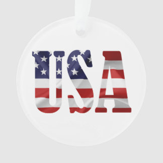 USA Patriotic Ornament