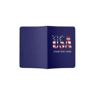 USA Patriotic Passport Holder