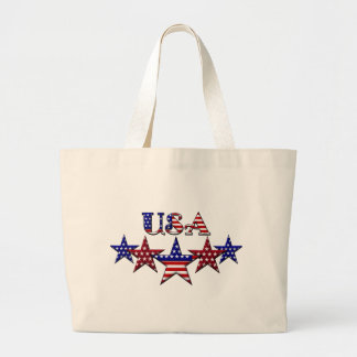 USA Patriotic tote bag