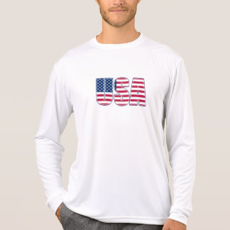 USA Performance Micro-Fiber Long Sleeve (02) T-Shirt