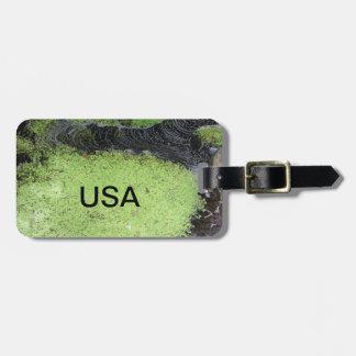 USA Pond Luggage Tag