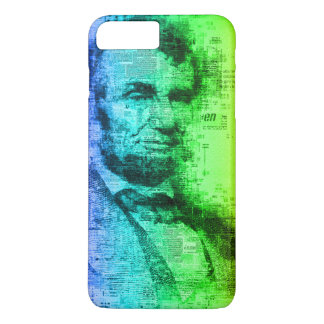 USA President Abraham Lincoln Rainbow Typography Case-Mate iPhone Case