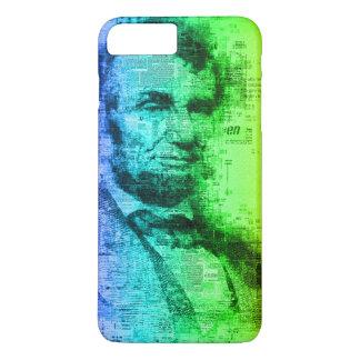 USA President Abraham Lincoln Rainbow Typography iPhone 7 Plus Case