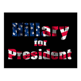 USA Presidential Election 2016 for postcard