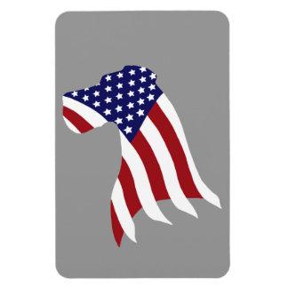 USA Pride Great Dane Magnet