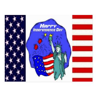 USA Pride - Independence Day Postcard