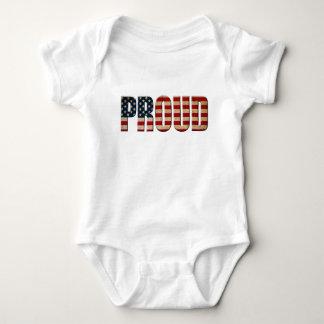 Usa proud baby bodysuit