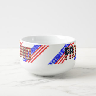 Usa proud soup mug
