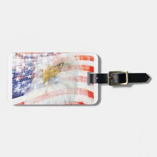 USA Proud Travel Bag Tag