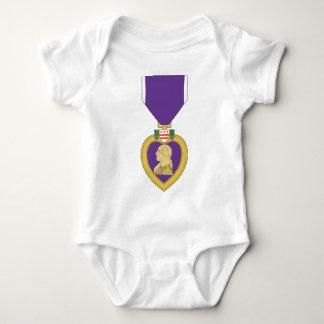 USA Purple Heart Medal Baby Bodysuit
