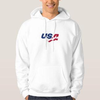 USA Racquetball Hooded Sweatshirt