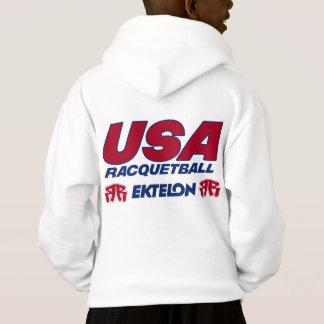 USA Racquetball Kids Hoodie