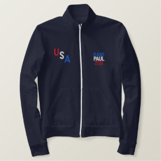 USA RAND PAUL 2016 AA FLEECE ZIP JOGGER JACKET