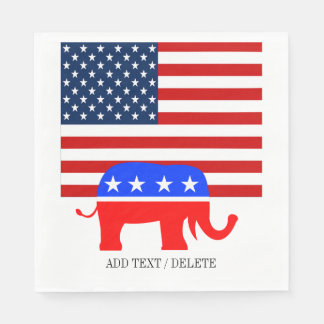 USA Republican Napkins Paper Napkin
