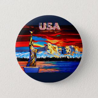 USA ROUND BUTTON