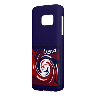 USA S7 iPhone Case for Anyone on Red/White/Blue