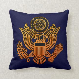 USA Seal Throw Pillow