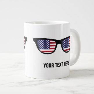 USA Shades custom mugs Jumbo Mug