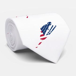 USA skiing American skier Tie
