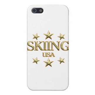 USA Skiing iPhone 5/5S Cases