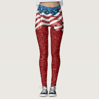 USA Skirt ILLUSION Fashion Leggings