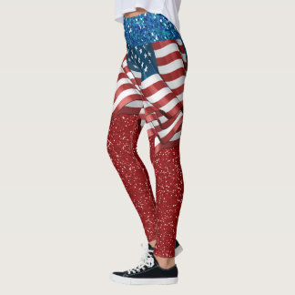 USA Skirt ILLUSION Long Version Fashion Leggings