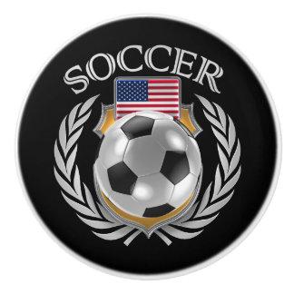 USA Soccer 2016 Fan Gear Ceramic Knob