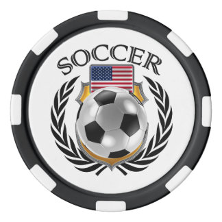 USA Soccer 2016 Fan Gear Poker Chips