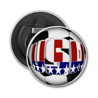 USA Soccer Ball Bottle Opener