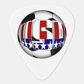 USA Soccer Ball Guitar Pick