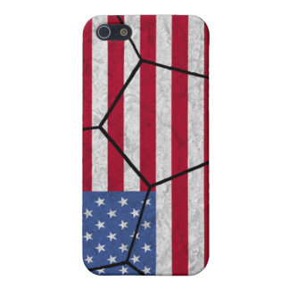 USA Soccer Ball iPhone 4 Case