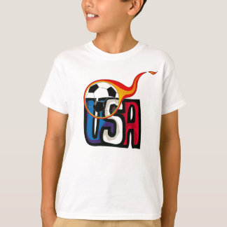 USA Soccer Boy's T-Shrit T-Shirt