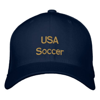 USA Soccer Cap for United States futbol fans