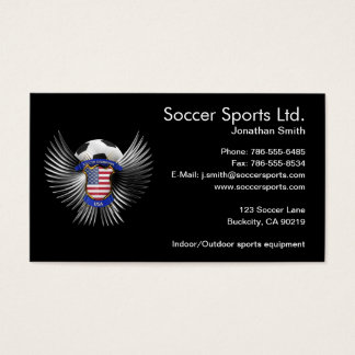 USA Soccer Champions Business Card