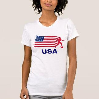USA Soccer Flag T-Shirt