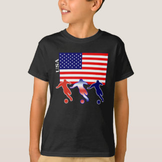 USA Soccer Players T-Shirt
