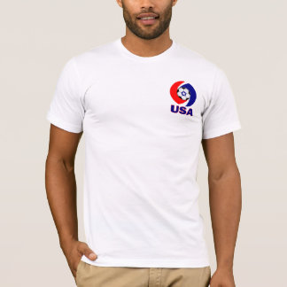USA Soccer Swirl design T-Shirt